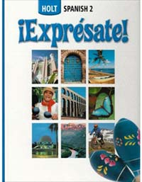 Holt Spanish 2 Expresate - front cover