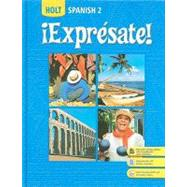 Expresate: Spanish 2 - front cover