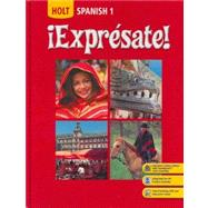 Expresate: Spanish 1 - front cover