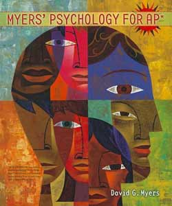 Myers' Psychology 1st AP Edition - front cover