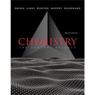 Chemistry The Central Science 12th Edition (with MasteringChemistry) - front cover