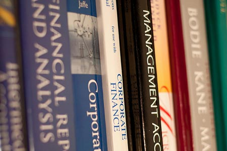 Corporate Finance books are commonplace in accounting students' bookshelves