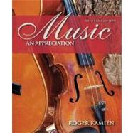Music: An Appreciation 6th Brief Edition cover
