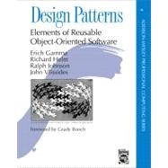 Design Patterns: Elements of Reusable Object-Oriented Software 1st Edition Cover