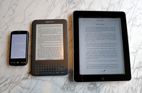 HTC Desire, Kindle, and iPad lineup