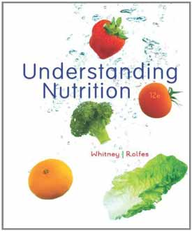 Understanding Nutrition- 12th Edition cover